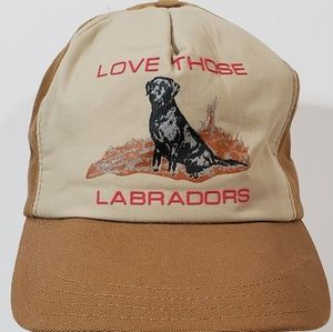 Love Those Labradors Dog Lovers Hat Cap USA